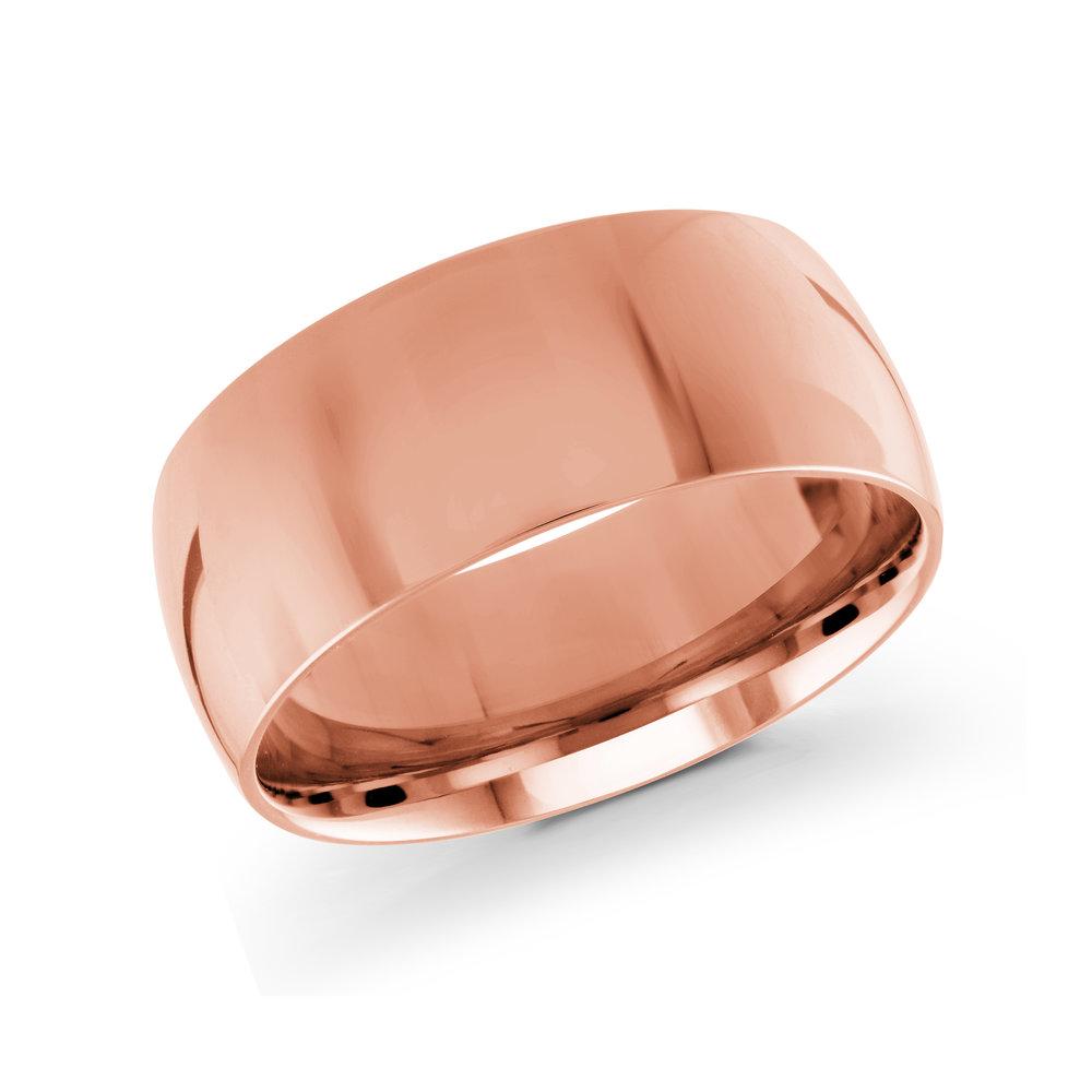 Pink Gold Men's Ring Size 9mm (J-217-09PG)